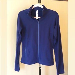 Lululemon Zip Up Jacket - Blue